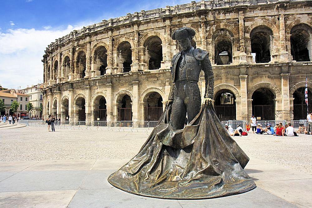 Provence Nimes Amphitheatre