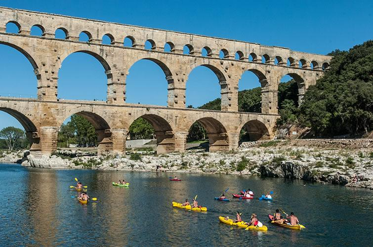 The Pont Du Gard Aqueduct