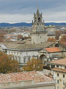 Avignon France Clock Tower