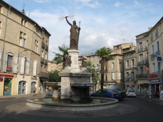 Pezenas, France: The Statue Of Marianne